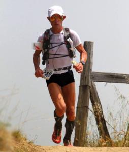 dr kroner running in his favorite ultramarathon, Miwok 100k